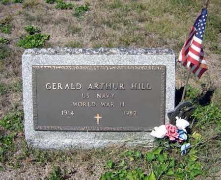 HILL (WWII), GERALD ARTHUR - Warren County, New York | GERALD ARTHUR HILL (WWII) - New York Gravestone Photos