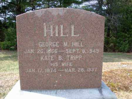 HILL, GEORGE M - Warren County, New York | GEORGE M HILL - New York Gravestone Photos