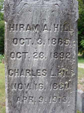 HILL, CHARLES L - Warren County, New York | CHARLES L HILL - New York Gravestone Photos