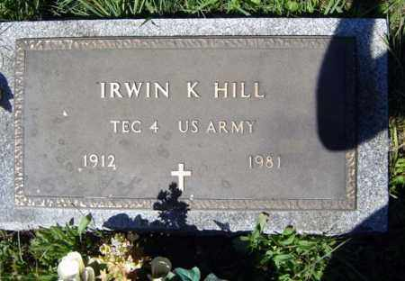 HILL, IRWIN K - Warren County, New York | IRWIN K HILL - New York Gravestone Photos