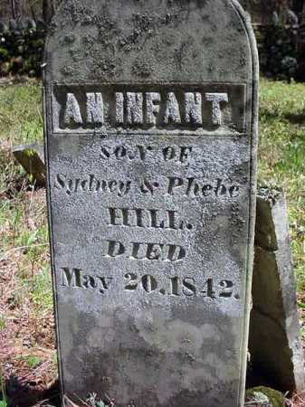HILL, INFANT - Warren County, New York | INFANT HILL - New York Gravestone Photos