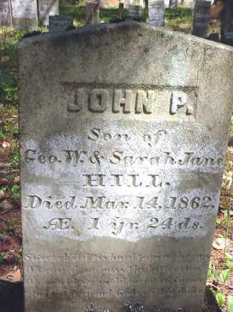 HILL, JOHN P. - Warren County, New York | JOHN P. HILL - New York Gravestone Photos