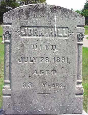 HILL, JOHN - Warren County, New York | JOHN HILL - New York Gravestone Photos
