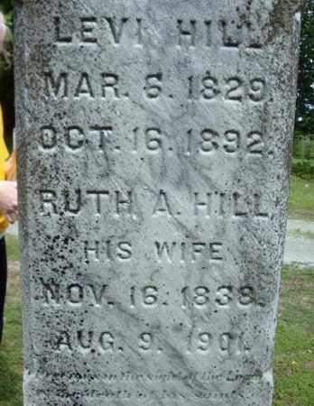 HILL, LEVI - Warren County, New York | LEVI HILL - New York Gravestone Photos