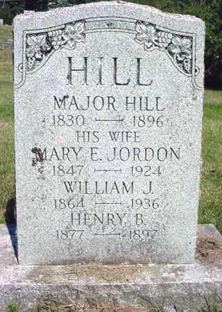 HILL, HENRY B - Warren County, New York | HENRY B HILL - New York Gravestone Photos
