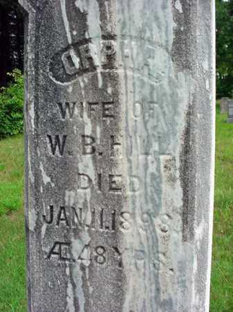 HILL, ORPHA - Warren County, New York | ORPHA HILL - New York Gravestone Photos
