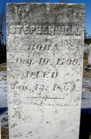 HILL, STEPHEN - Warren County, New York | STEPHEN HILL - New York Gravestone Photos