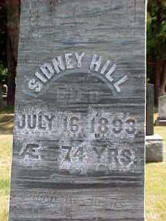 HILL, SIDNEY - Warren County, New York   SIDNEY HILL - New York Gravestone Photos
