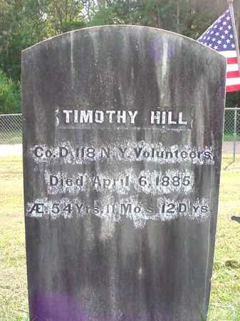 HILL, TIMOTHY - Warren County, New York | TIMOTHY HILL - New York Gravestone Photos