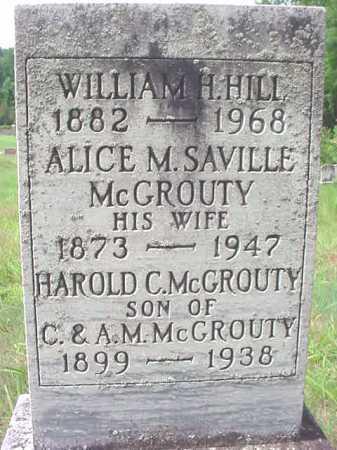 HILL, WILLIAM H - Warren County, New York | WILLIAM H HILL - New York Gravestone Photos