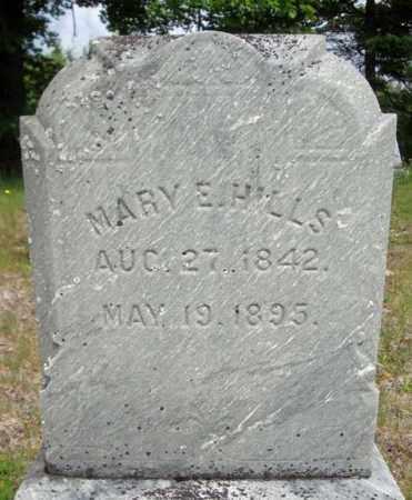 HILLS, MARY E - Warren County, New York | MARY E HILLS - New York Gravestone Photos
