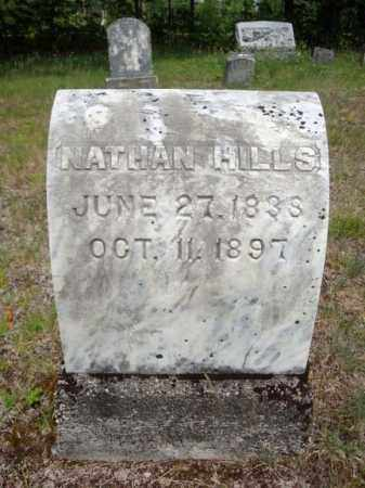 HILLS, NATHAN - Warren County, New York   NATHAN HILLS - New York Gravestone Photos