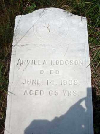 HODGSON, ARVILLA - Warren County, New York   ARVILLA HODGSON - New York Gravestone Photos