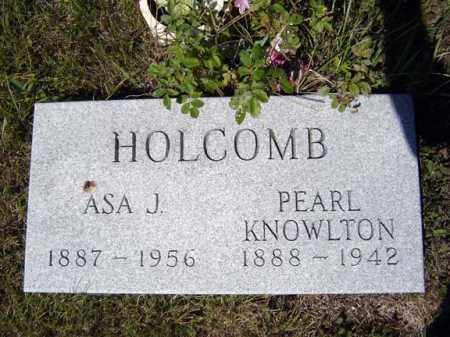 KNOWLTON HOLCOMB, PEARL - Warren County, New York | PEARL KNOWLTON HOLCOMB - New York Gravestone Photos