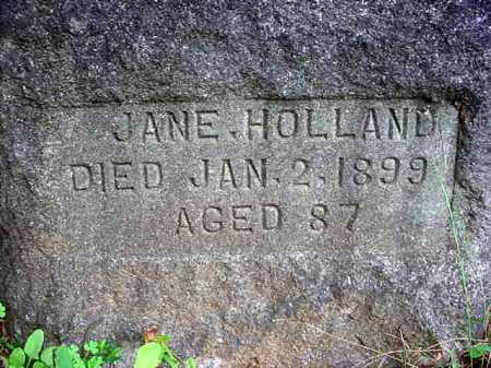 HOLLAND, JANE - Warren County, New York | JANE HOLLAND - New York Gravestone Photos
