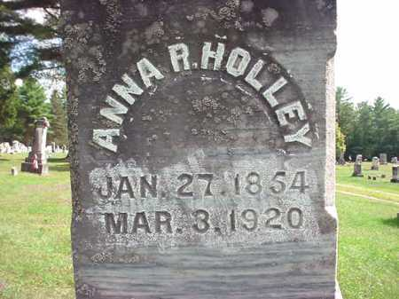 HOLLEY, ANNA R - Warren County, New York | ANNA R HOLLEY - New York Gravestone Photos