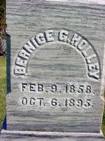 HOLLEY, BERNICE G - Warren County, New York | BERNICE G HOLLEY - New York Gravestone Photos