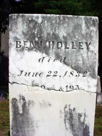 HOLLEY, BENJAMIN - Warren County, New York | BENJAMIN HOLLEY - New York Gravestone Photos