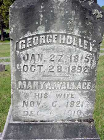 HOLLEY, GEORGE - Warren County, New York | GEORGE HOLLEY - New York Gravestone Photos