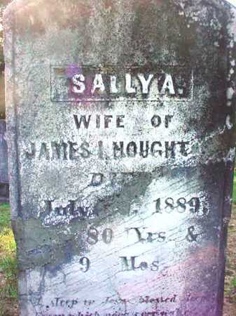 HOUGHT, SALLY A - Warren County, New York | SALLY A HOUGHT - New York Gravestone Photos