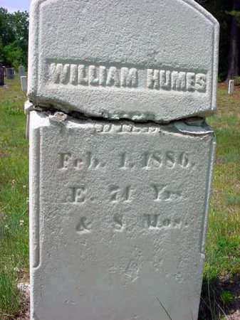 HUMES, WILLIAM - Warren County, New York | WILLIAM HUMES - New York Gravestone Photos