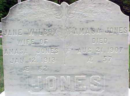JONES, AMASA - Warren County, New York | AMASA JONES - New York Gravestone Photos