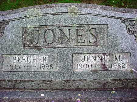 JONES, JENNIE M - Warren County, New York | JENNIE M JONES - New York Gravestone Photos