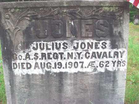 JONES (CW), JULIUS - Warren County, New York | JULIUS JONES (CW) - New York Gravestone Photos