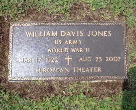 JONES, WILLIAM DAVIS - Warren County, New York | WILLIAM DAVIS JONES - New York Gravestone Photos