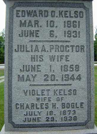 KELSO, JULIA A - Warren County, New York | JULIA A KELSO - New York Gravestone Photos