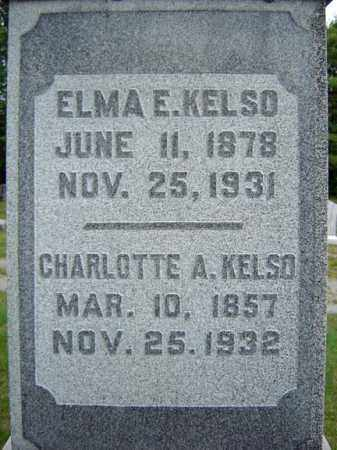 KELSO, CHARLOTTE A - Warren County, New York | CHARLOTTE A KELSO - New York Gravestone Photos