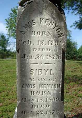 KENYON, SIBYL - Warren County, New York | SIBYL KENYON - New York Gravestone Photos