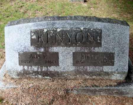 KENYON, ADA P - Warren County, New York | ADA P KENYON - New York Gravestone Photos
