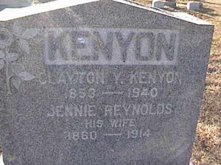 KENYON, CLAYTON Y. - Warren County, New York | CLAYTON Y. KENYON - New York Gravestone Photos