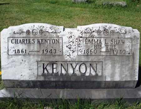 KENYON, CHARLES - Warren County, New York | CHARLES KENYON - New York Gravestone Photos