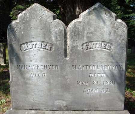 KENYON, CLAYTON L - Warren County, New York   CLAYTON L KENYON - New York Gravestone Photos