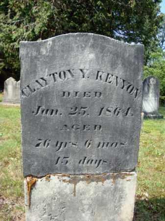KENYON, CLAYTON Y - Warren County, New York | CLAYTON Y KENYON - New York Gravestone Photos
