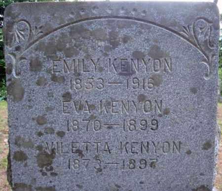 KENYON, VILETTA - Warren County, New York | VILETTA KENYON - New York Gravestone Photos