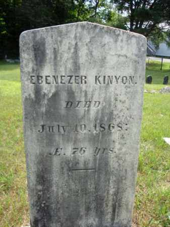 KENYON, EBENEZER - Warren County, New York   EBENEZER KENYON - New York Gravestone Photos