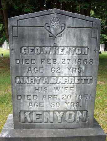 KENYON, GEO W - Warren County, New York | GEO W KENYON - New York Gravestone Photos