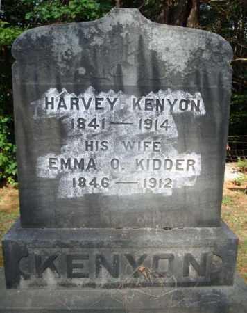 KENYON, HARVEY - Warren County, New York | HARVEY KENYON - New York Gravestone Photos