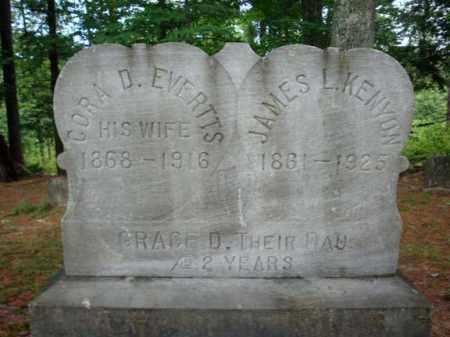 KENYON, CORA D - Warren County, New York | CORA D KENYON - New York Gravestone Photos