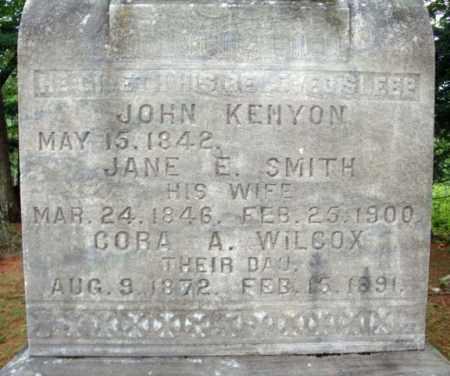 KENYON, JANE E - Warren County, New York | JANE E KENYON - New York Gravestone Photos