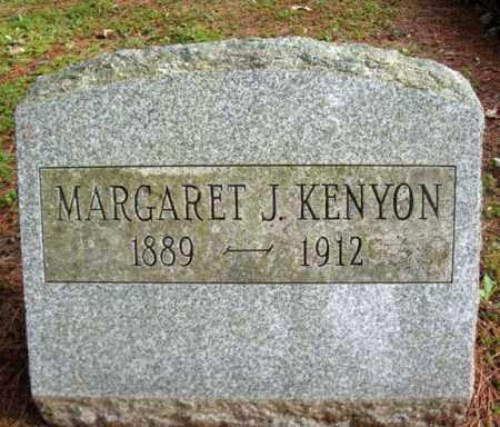 KENYON, MARGARET J - Warren County, New York   MARGARET J KENYON - New York Gravestone Photos