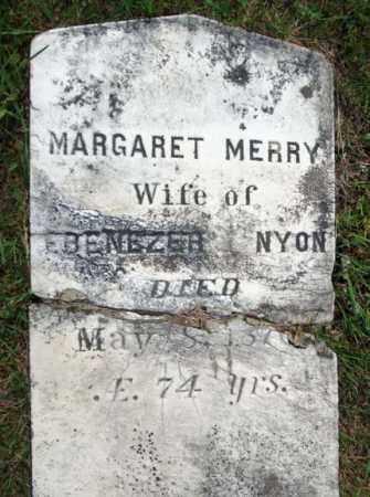 MERRY, MARGARET - Warren County, New York | MARGARET MERRY - New York Gravestone Photos