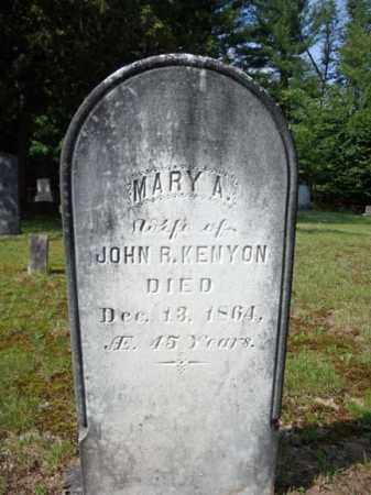 KENYON, MARY A - Warren County, New York | MARY A KENYON - New York Gravestone Photos