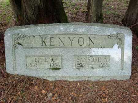 KENYON, SANFORD A - Warren County, New York | SANFORD A KENYON - New York Gravestone Photos