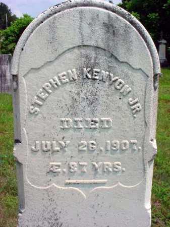 KENYON, STEPHEN, JR - Warren County, New York   STEPHEN, JR KENYON - New York Gravestone Photos