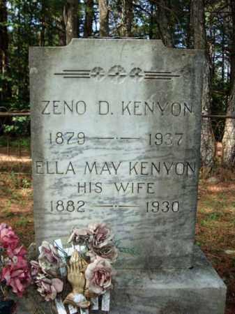 KENYON, ZENO D - Warren County, New York | ZENO D KENYON - New York Gravestone Photos