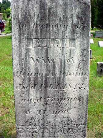 WILSON, BEULAH - Warren County, New York | BEULAH WILSON - New York Gravestone Photos